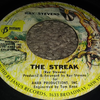 Ray Stevens...On 45 RPM Vinyl - Records