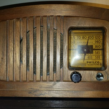 Philco Transitone pt-44 - Radios
