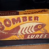 BOMBER LURE WITH ORIGINAL BOX.