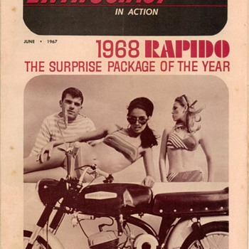 "1967 - ""Motorcycle Enthusiast"" - Harley-Davidson Periodical"