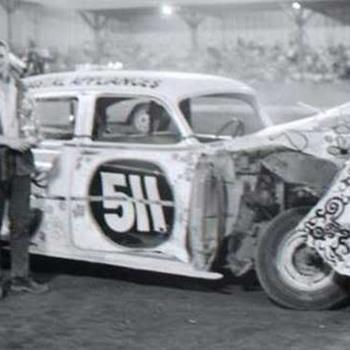 Demo derby car