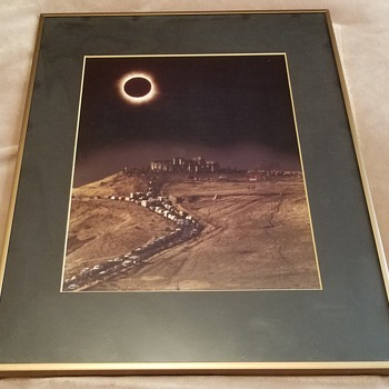 "Photo - February 26, 1979 ""Total Eclipse"" by Maurice King   - Photographs"