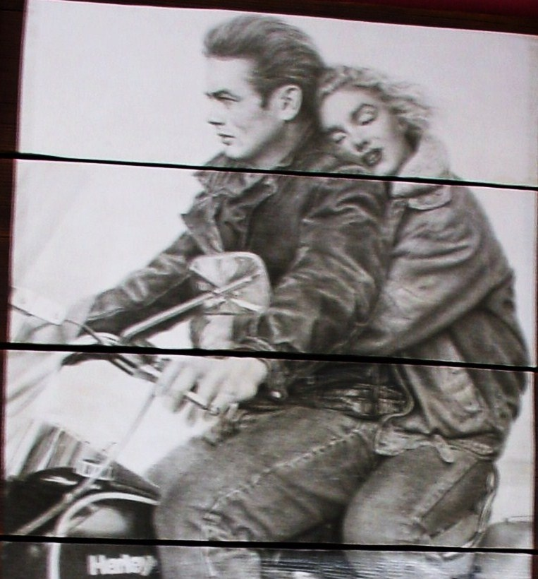 James Dean And Marilyn Monroeon A Harley Davidson Collectors Weekly