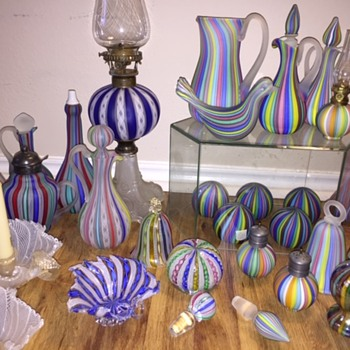 A Texas Size Venetian Murano Art Glass Collection - Art Glass