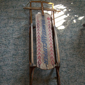 Vintage Yankee Clipper Sled - Sporting Goods