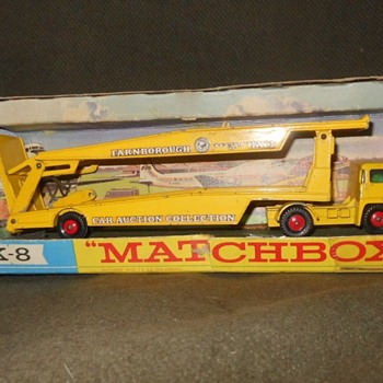 Multiple Matchbox Monday Guy Warrior Car Transporter 1968 - Model Cars