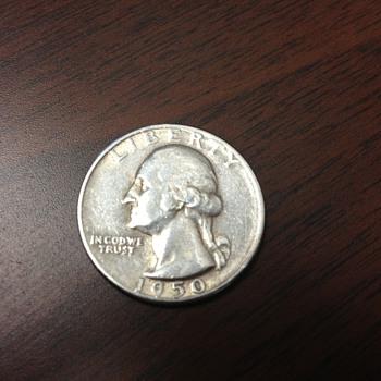 1950 S Quarter Dollar