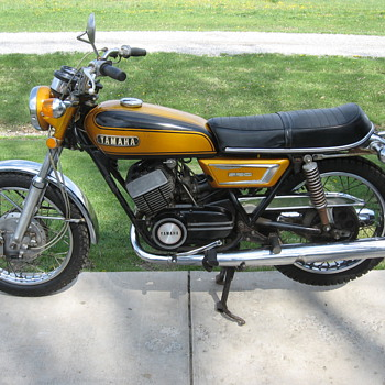 1972 Yamaha DS7 250 - Motorcycles