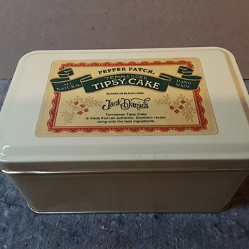 TENNESSEE TIPSY CAKE metal tin - Advertising