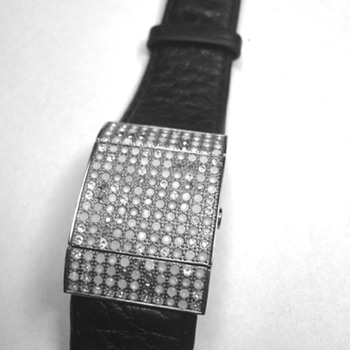Swarovski Lockable Ladies watch  - Costume Jewelry