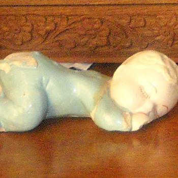 Glazed pottery doll? - Dolls