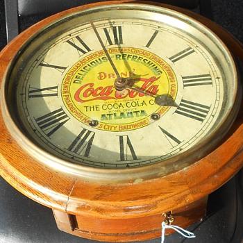 Coca-Cola clock - Clocks