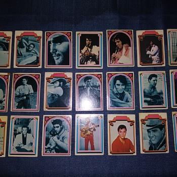 Elvis Trading Cards - Music Memorabilia