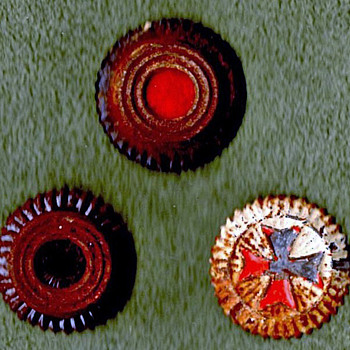 WWI German Kokarde (Rosettes)  - Military and Wartime