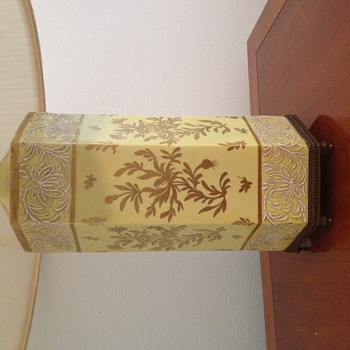 Antique French Porcelain Lamp - Help with identifying hallmark? Any add'l info?