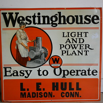 Westinghouse Electric  - Signs