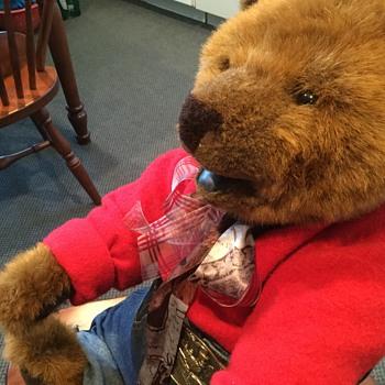 GUND 100 anniversary 1998 bear  - Animals