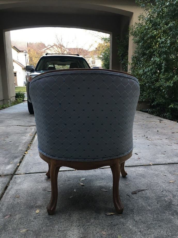 Small tub chair | Collectors Weekly