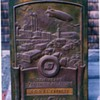 Antique Bronze Goodyear Dealer Plaque