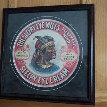 Sleepy Eye (MN) Mills advertising piece - Advertising