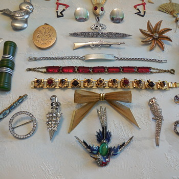 Flea Market Finds Part 2 The Jewelry A Closer Look! :^) - Costume Jewelry