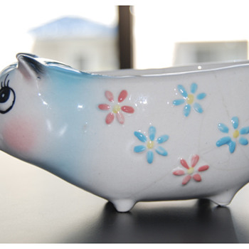 Holt-Howard 1958 Pig Candle Holder - Animals