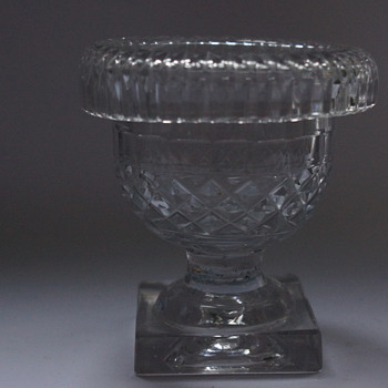 Irish Turnover Bowl - Art Glass