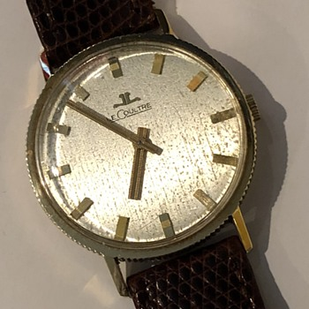 Help needed with Identification on this JLC - Wristwatches