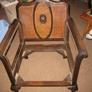 Armchair recane - Furniture
