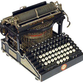 Smith Premier 1 typewriter - 1890