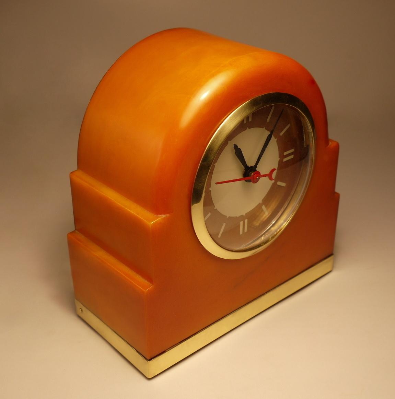 "Lackner Neon-Glo ""Dulcy"" Shelf Clock"