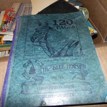 1933-34 Hand Written Songs Aster Sizemore & Lil Jimmy