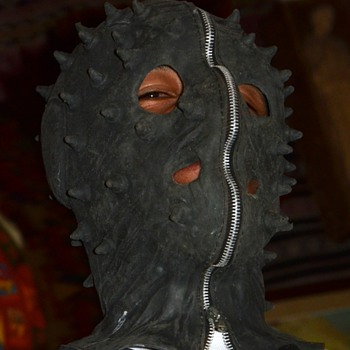 Fetish Mask with working zipper - Don Post - 1989