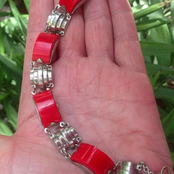 Art Deco Jabok Bengel Bracelet?