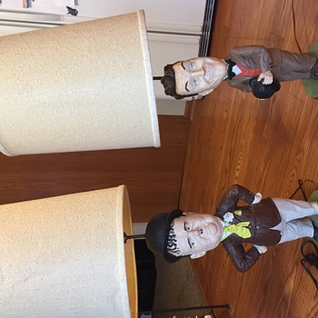 Laurel And Hardy Lamps