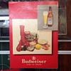 Budweiser menu cover