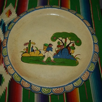Very Large Platter from Mexico - 30s/40s - Pottery