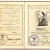 1939 Ausweis issued to a SS war-criminal