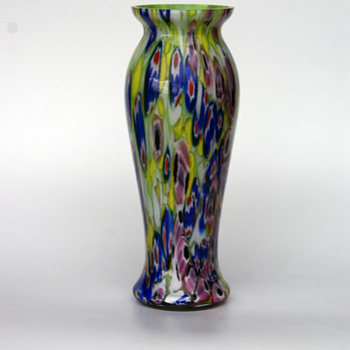 Kralik Milefiori vase - Art Glass