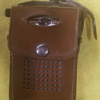 1959 Motorola Transistor Radio, Model X11G - Radios