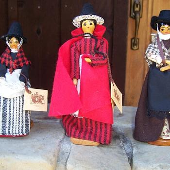 Three Cillacraft Welsh Dolls - Dolls