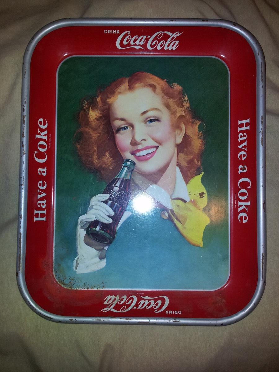 Coca-Cola Trays & Service Pin | Collectors Weekly