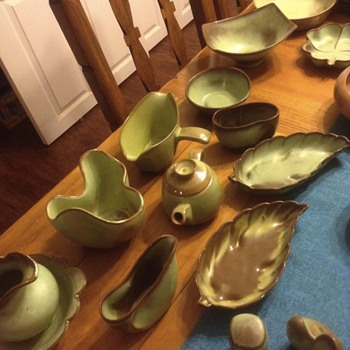 My frankoma collection  - Pottery