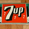 7 UP Soda Sign 1940's