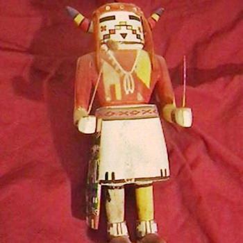 1930's Hopi Katsina Doll - Native American