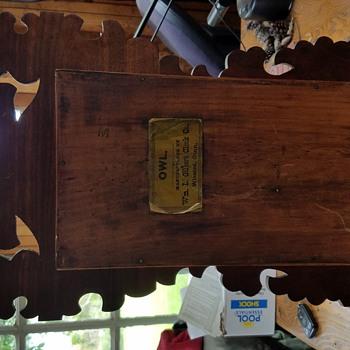 OWL gilbert 1879 - Clocks