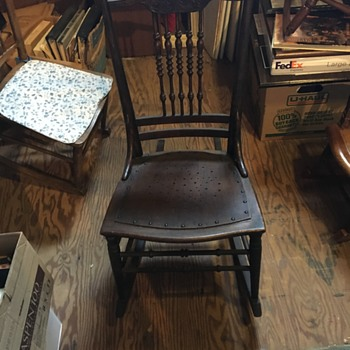 Very old chair- I think from the East Coast