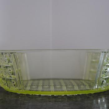 Vaseline Glass #2 - Glassware