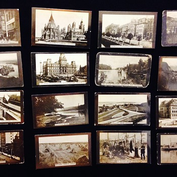 Antique Albumen Print From Negative Tobacco Cards 1880-1910