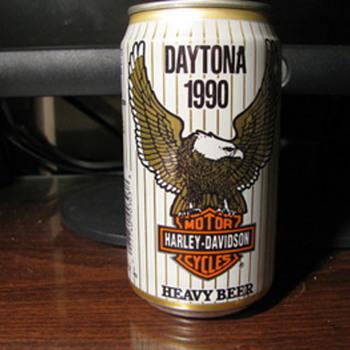 Daytona Beer cans